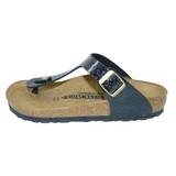 Birkenstock Gizeh Magic snake black breit