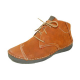 Josef Seibel Fergey 18  Damenschnürstiefel orange